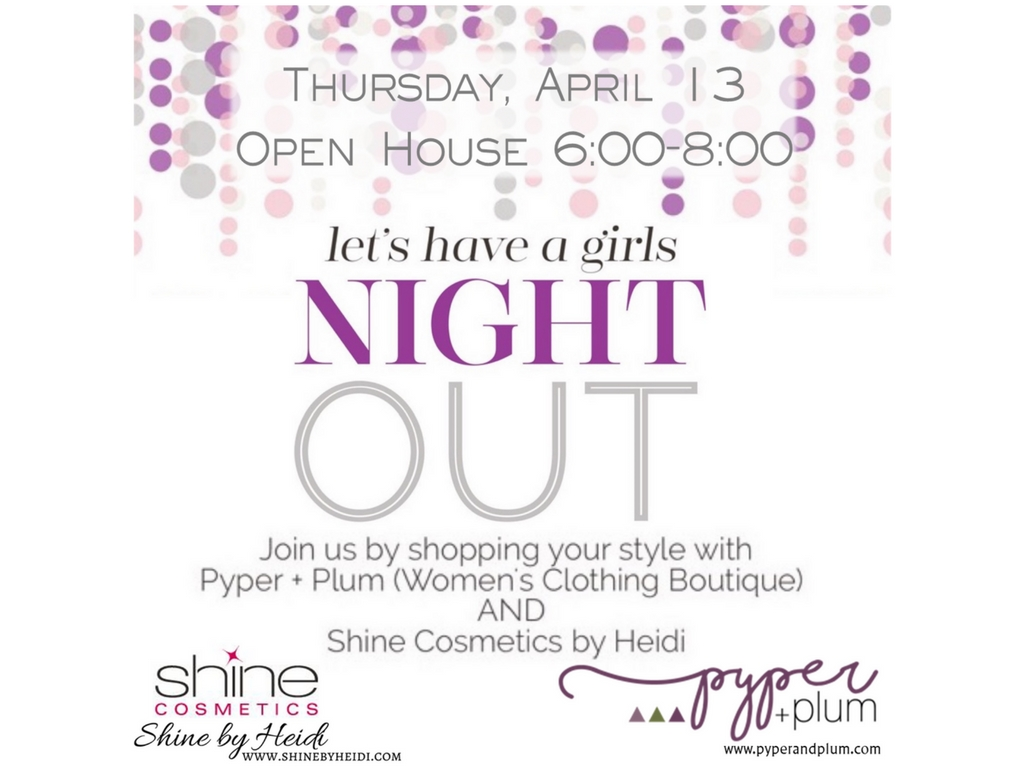 Let's have a girls night out