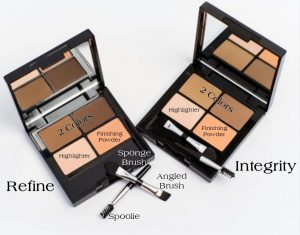 Shine Cosmetics Brow Kit with lables