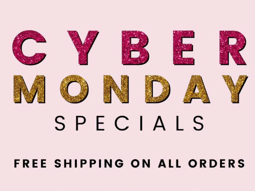 Cyber Monday Shine Specials