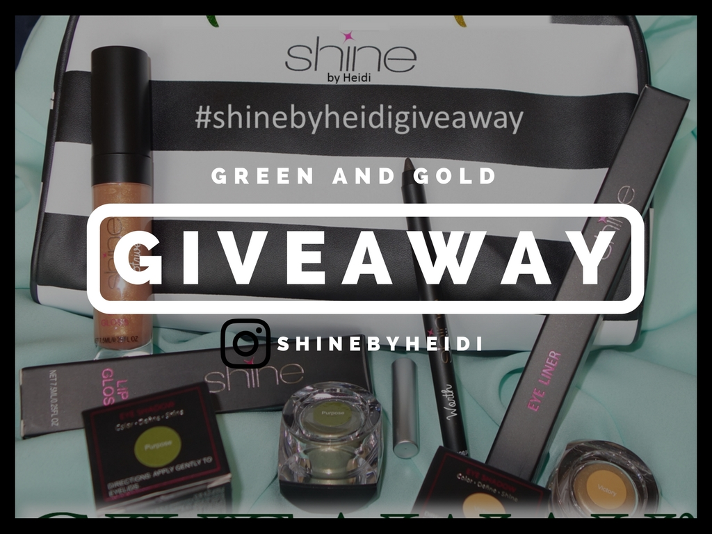 Shine by Heidi Green and Gold Giveaway