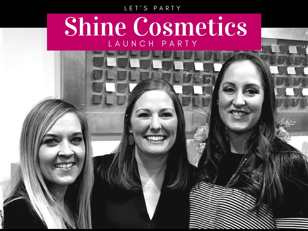 Let's Party! Shine Cosmetic's Launch Party!