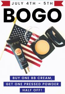 Shine Cosmetics 4th of July BOGO 02