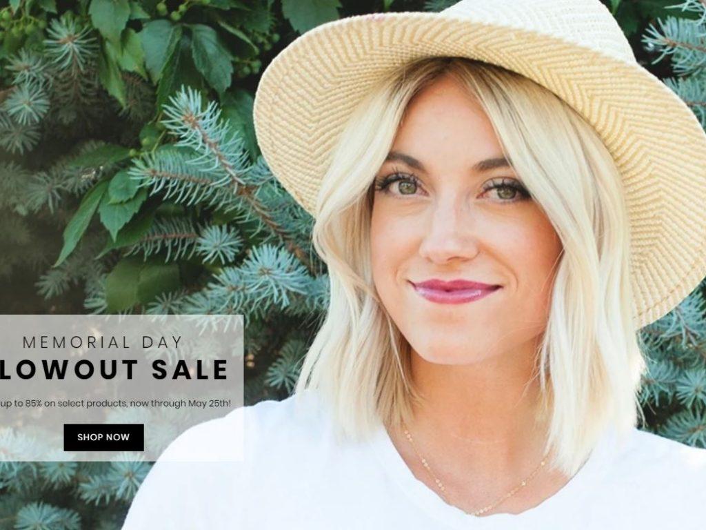 Shine Cosmetics Blowout Memorial Day Sale