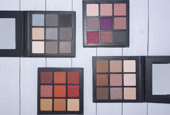 Shine Cosmetics Eyeshadow Palettes