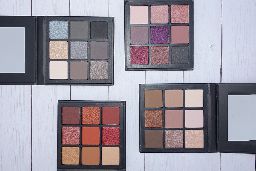 Shine Cosmetics Eyeshadow Palettes title