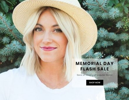 Shine Cosmetics Memorial Day Flash Sale