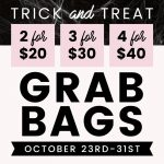 Shine Cosmetics Trick and treat grab bags