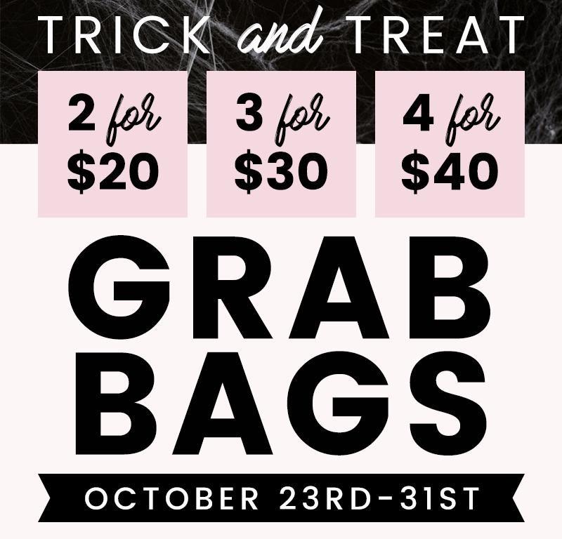Shine Cosmetics Trick and treat grab bags