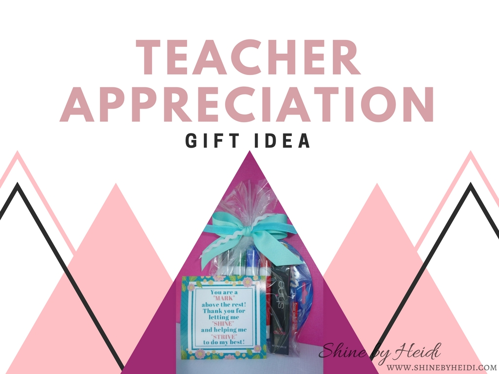 Teacher Appreciation Gift Idea